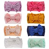 Baby Girl Nylon Headbands Newborn Infant Toddler Hairbands and Bows Child Hair Accessories (MZ202)