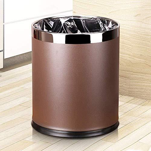 Cuarto de baño o el dormitorio, plástico papelera sin tapa Troll desechos domésticos papelera cesta de plástico inviolable Cubo de basura Cubo de basura for la oficina Bento box lunch for los niños Zi