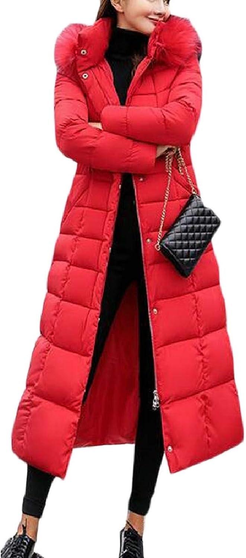 CBTLVSN Womens Warm Slim Fit Long Down Coat Parka Coat Outwear