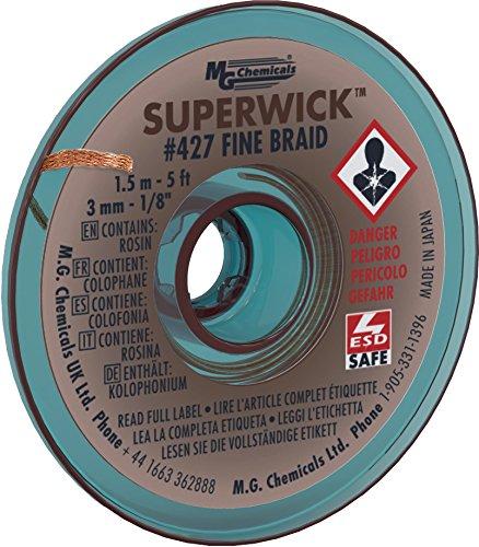 Super Wick Trenza Fina, 3.0mm
