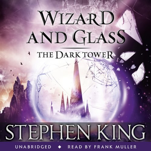 The Dark Tower IV: Wizard and Glass audiobook cover art
