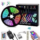 LED Strips Lights, L8star Color Changing Rope Lights 16.4ft(5m) SMD 5050 RGB Lights