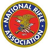 National Rifle Association NRA Sticker Laptop Bumper Second Amendment Decal