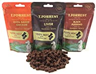 100% MEAT Training Treats for Dogs - 3 Packs of 100g Natural Mixed Treats - 1 x Oven Baked Chicken, ...