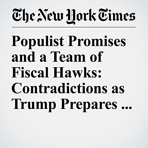 Populist Promises and a Team of Fiscal Hawks: Contradictions as Trump Prepares Budget Plan copertina