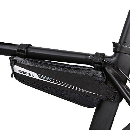 Roswheel Fahrradtasche Radtasche Fahrrad Oberrohrtasche Rahmentasche Rennrad Tasche Triangle Bike Bag for Frame(0,6L)