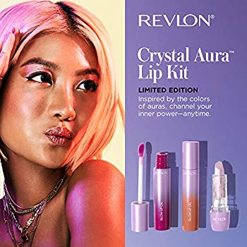 3-Pack Revlon Crystal Aura Collection Lip Kit