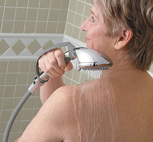 Moen DN8001CH Home Care Multi-Function Handheld Shower with Pause Control, Chrome