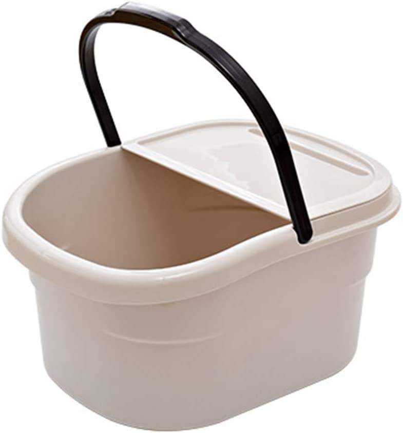 Great interest Thicken Max 81% OFF Insulation Portable with Lid Foot Bar Massager Bath
