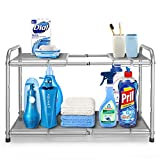 Simple Trending 2-Tier Under Sink Expandable Cabinet Shelf...