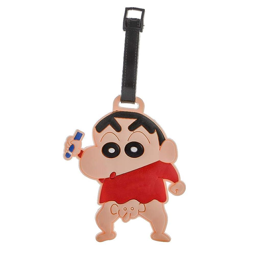 おいしい眠っているインフレーションG?Watanabe クレヨンしんちゃん ラゲッジタグ Luggage tag ネームタグ PVC製 ぞうさん