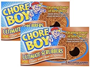 Chore Boy Copper Scouring Pad 4 Count