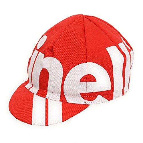 Cinelli Nemo Tig Cap, Unisex, 545-1628-NEMO, rot, Einheitsgröße