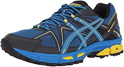 ASICS Men's Gel-Kahana 8 Running Shoe, Directoire Blue/Vibrant Yellow/Black, 11.5 Medium US