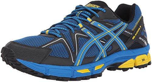 ASICS Mens Gel-Kahana 8 Running Shoe, Directoire Blue/Vibrant Yellow/Black, 11 Medium US
