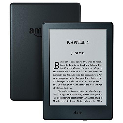 Kindle eReader: 15,2 cm (6 Zoll) Touchscreen ohne Spiegeleffekte