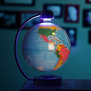 feiren Persoonlijkheid magnetische levitatie globe 8 inch sterrenbeeld rotatie creatieve kantoor geschenken aangepaste pot...