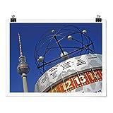 Bilderwelten Poster - Berlin Alexanderplatz - Apaisado 3:4 Brillante 45 x 60cm