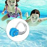 JOJYO Nasenklammer,Nasenklammer Schwimmen 10 Stück Silikon Nasen Clip Schutz Geeignet für Erwachsene und Kinder Schwimmen Freitaucher und Anfänger - 7