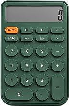 $28 » XWDQ Multifunction Desktop Calculator,12-Digit LCD HD Screen Cute Yellow Basic Version,Solar Battery Dual Power Supply,Stu...