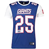 Majestic New York Giants T-Shirt/Tee - Poly Mesh - NFL 2019 - Royal -