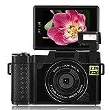 Digital Camera Camcorder WiFi Vlogging Camera 2.7K Ultra HD 24MP Video Camcorders Vlogging
