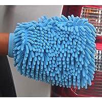 厚みのある両面防水洗車用手袋、工具、マイクロファイバー、ベルベット、車用掃除用手袋、車用掃除用品