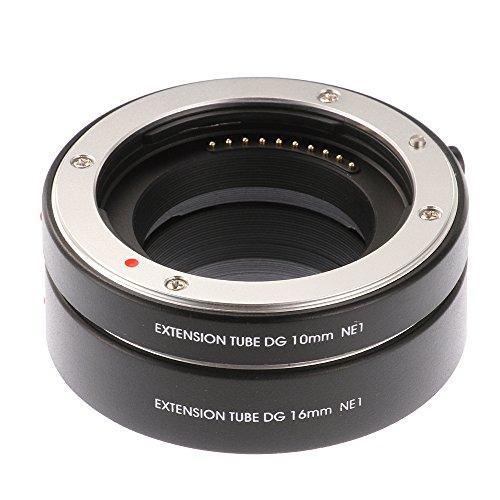 Ruili Autofokus Makro Zwischenringe Extension Tubes(10mm, 16mm) für Samsung NX Mount NX1 NX10 NX20 NX200 NX300 NX500 NX1000 NX1100 NX2000 NX3000 Systemkamera