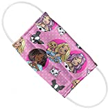 Barbie Kids Friends, Puppies and Kittens 1-Ply Reusable Face Mask Covering