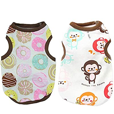 TENGZHI Pet Dog Clothes For Small Dogs Clothing Vest Clothing for Dogs Coat Puppy Fashion Outfit Pet Clothes for Dog Hoodies Chihuahua Bulldog Labrador