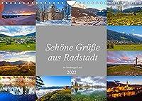 Schoene Gruesse aus Radstadt (Wandkalender 2022 DIN A4 quer): Impressionen von Radstadt im oberen Ennstal (Monatskalender, 14 Seiten )