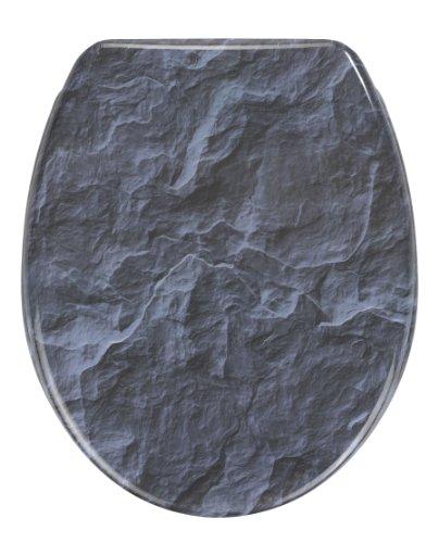 Wenko WC-Sitz Slate Rock - Toilettensitz