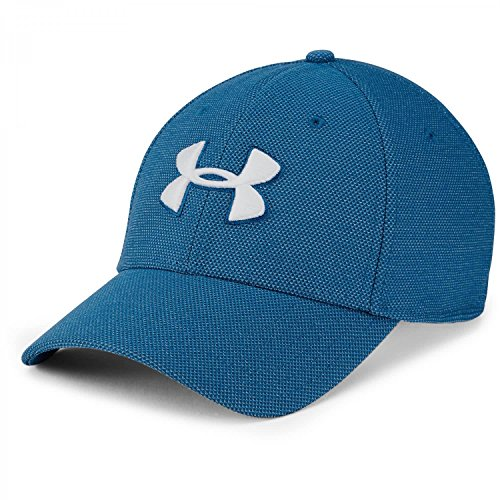 Under Armour Men's Heathered Blitzing 3.0 Gorra, Hombre, Azul (487), M