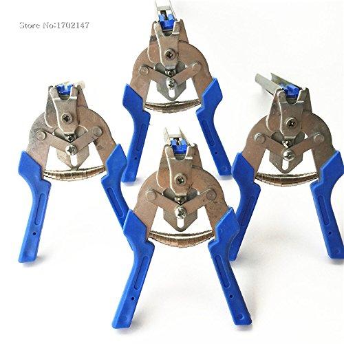 1 Ensemble avec semi-automatique Snap Pince à ongles M à l'aide des lapins, Poules, cage de caille Tied Pince