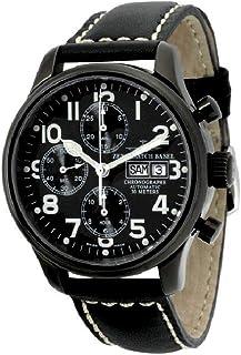 Zeno - Watch Reloj Mujer - NC Pilot Chrono Black - 9557TVDD-bk-a1