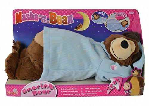 Simba 109301008 Masha Mascha und der Bär Schnarchbär