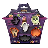 Decora 0255090 Set 6 Mini Tagliapasta Halloween 3/5 X H 2,2 Cm