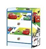 STOR - Comoda Infantil Charm con cajones | Cars Racers - Rayo Mcqueen | Disney - Dimensiones: 80,5 x 60 x 40 cm. - Varios Personajes