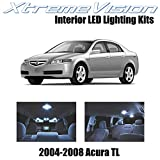Xtremevision Interior LED for Acura TL 2004-2008 (14 Pieces) Cool White Interior LED Kit + Installation Tool