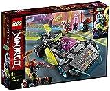 LEGO 71710 Ninjago CocheNinjaTuneado, Juguete de Construcción de Vehículo Ninja con 4 Mini Figuras