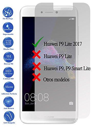 Todotumovil Protector de Pantalla Huawei P8 P9 Lite 2017 de Cristal Templado...
