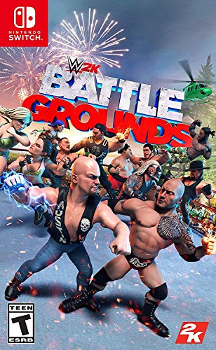 WWE 2K Games Battlegrounds - Nintendo Switch Standard Edition