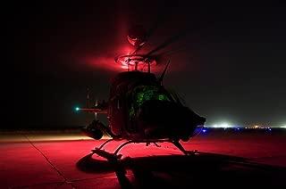 Posterazzi PSTTMO100833M Pilots Prepare for Takeoff in an OH-58D Kiowa Warrior on Camp Speicher Iraq Poster Print, 17 x 11