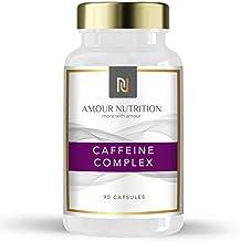 Amour Nutrition Caffeine Complex 6 Ingredient Blend Including Chromium Green Tea B Vitamins UK Made Quality Assured Estimated Price : £ 5,99