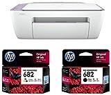HP DeskJet 2335 All-in-One Ink Advantage Colour Printer & HP 682 Black Ink