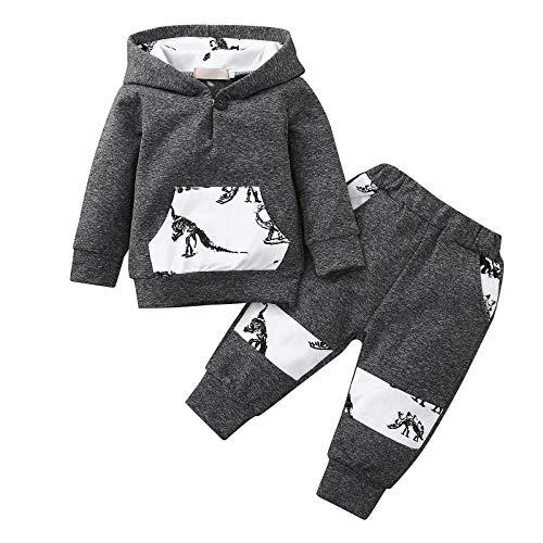 AILIEE Jungs Mädchen Kleidung Baby Neugeborenes Kind Lange Ärmel Mit Kapuze...