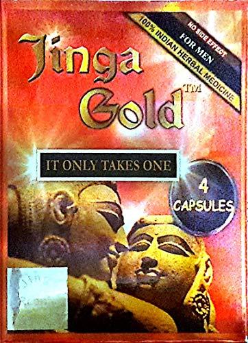 Ayush Veda Ayurvedic Jinga Gold 4 Capsules for Men