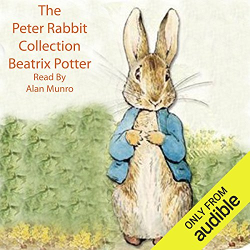 Peter Rabbit Collection audiobook cover art