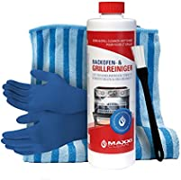 Maxxi Clean Ovenreiniger 500 ml gel pasta incl. oven- en grillreiniger borstel   lost hardnekkigste korstvorming op,...