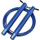Global Gym Wear RDX Sports SKIPPLING Rope Iron SRI-C4 Blue